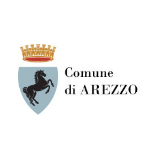 Municipality of Arezzo's logo, a city working with DV Ticketing