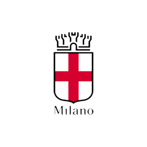 Municipality of Milan's logo, a city working with DV Ticketing