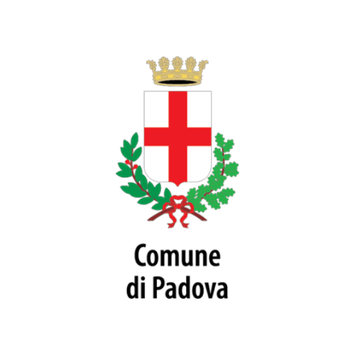 Municipality of Padova's logo, a city working with DV Ticketing
