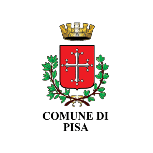 Municipality of Pisa's logo, a city working with DV Ticketing