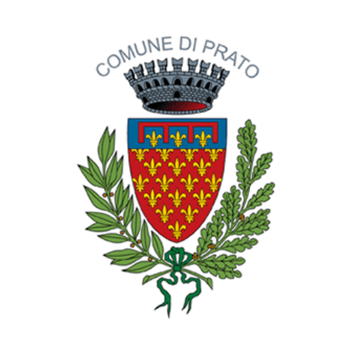 Municipality of Prato's logo, a city working with DV Ticketing
