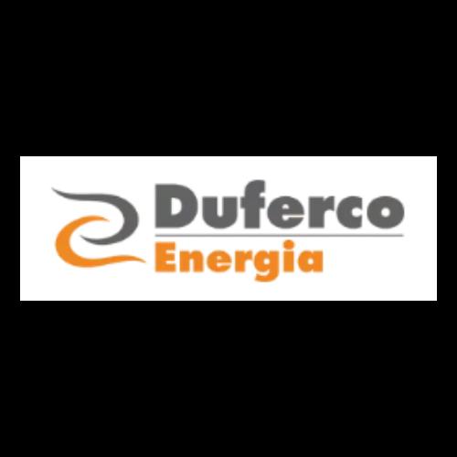 Duferco's logo, partner of DV Ticketing solution